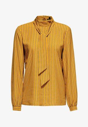 Blouse - amber yellow