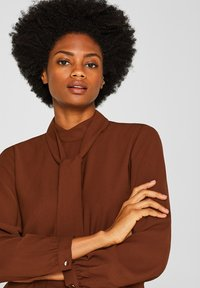 Esprit Collection - Blouse - dark brown - 3