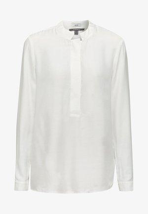 MIT STEHKRAGEN - Blouse - off white