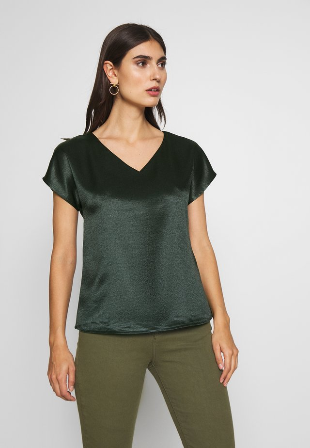 Blusa - dark teal green