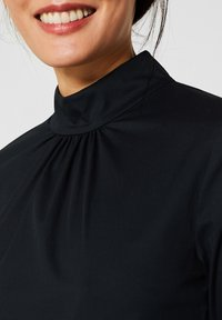 Esprit Collection - MIT STEHKRAGEN - Bluser - black - 3