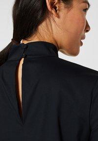 Esprit Collection - MIT STEHKRAGEN - Bluser - black - 4