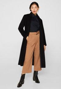 Esprit Collection - MIT STEHKRAGEN - Bluser - black - 1