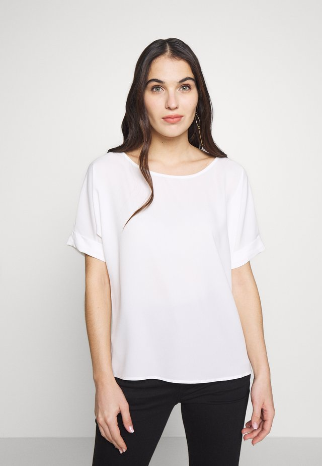 NEW DRAPE LIGHT - Blusa - off white