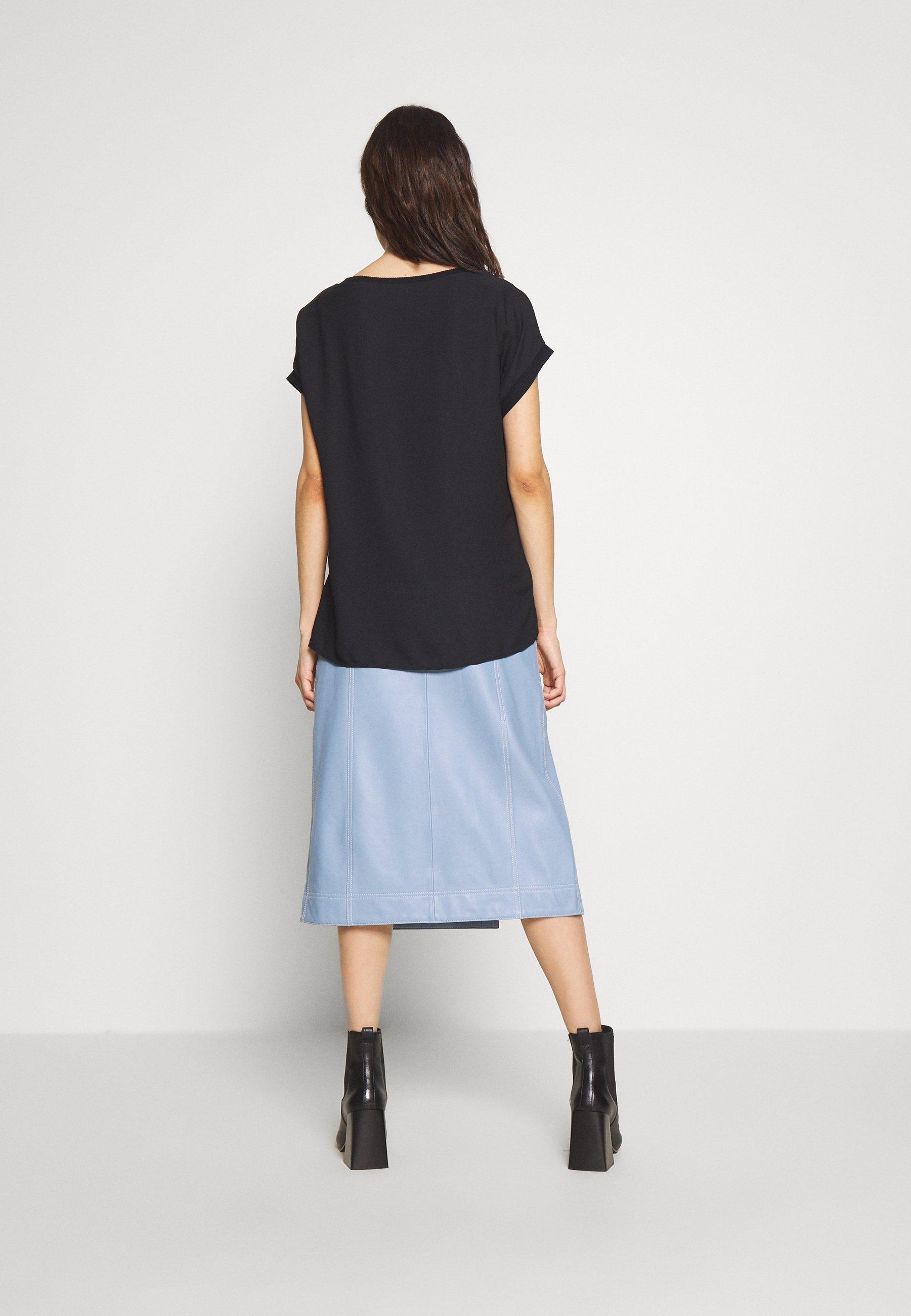 Esprit Collection WOMIX 2 LAYER - Bluser - black