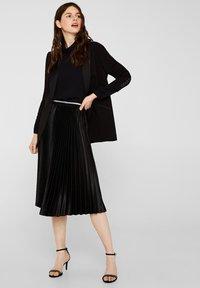 Esprit Collection - MIT ROLLKRAGEN - Blouse - black - 1