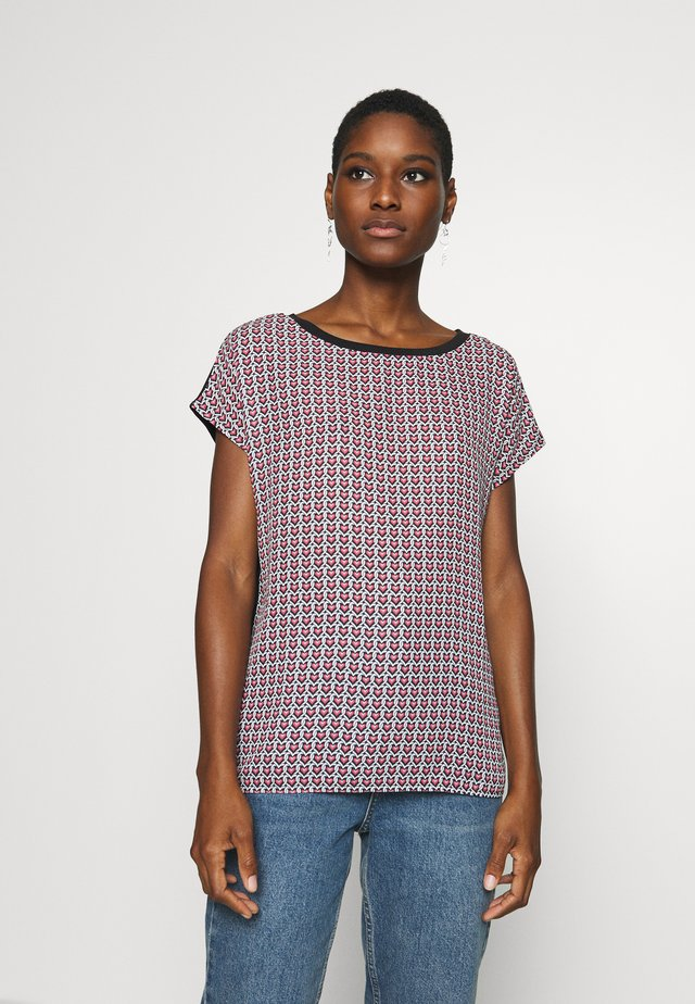 TEE WITH  - T-shirt con stampa - black