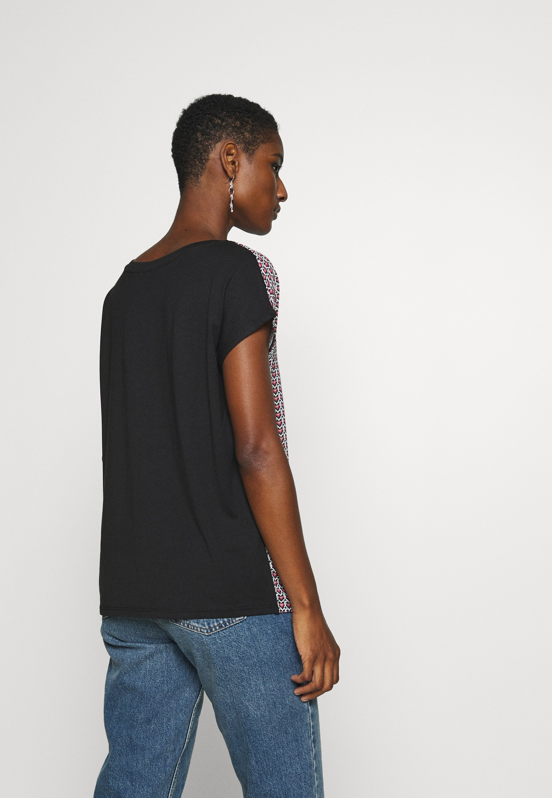Esprit Collection TEE WITH  - T-shirts med print - black