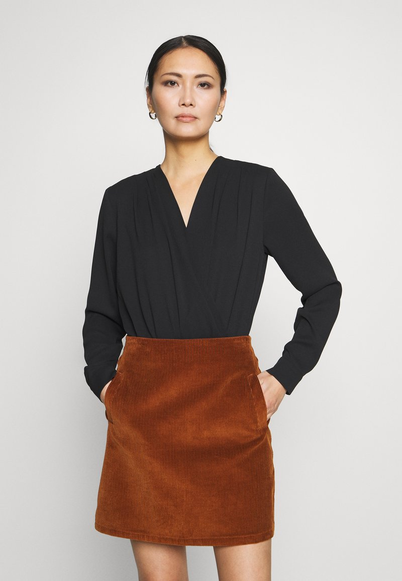Esprit Collection - NEW DRAPE LIGHT - Blouse - black