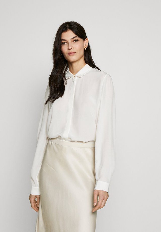 SILKY TOUCH - Blusa - off white