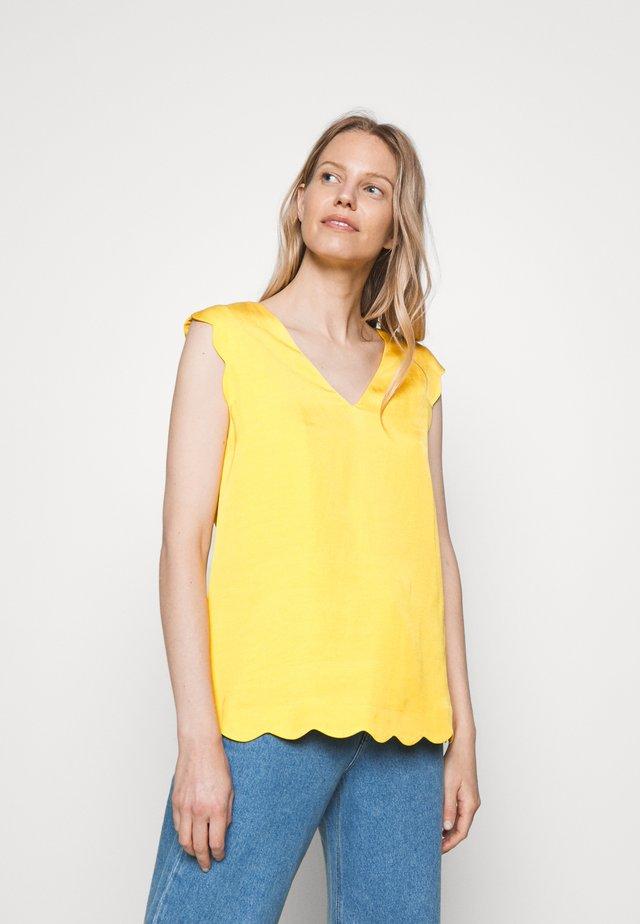 Blusa - yellow