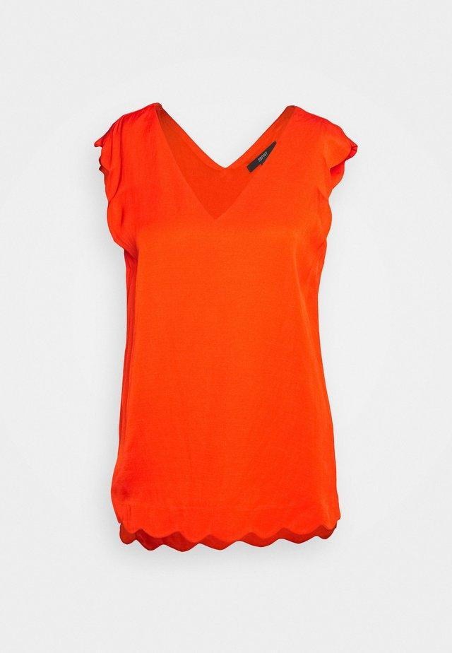 Bluzka - red orange