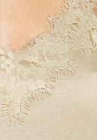 Esprit Collection - FLOW VNECK - Top - khaki beige - 6