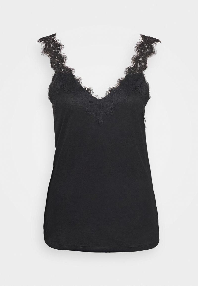 Esprit Collection - FLOW VNECK - Topper - black
