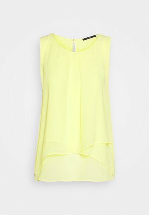 Bluse - lime yellow