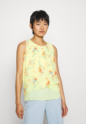 Blouse - lime yellow