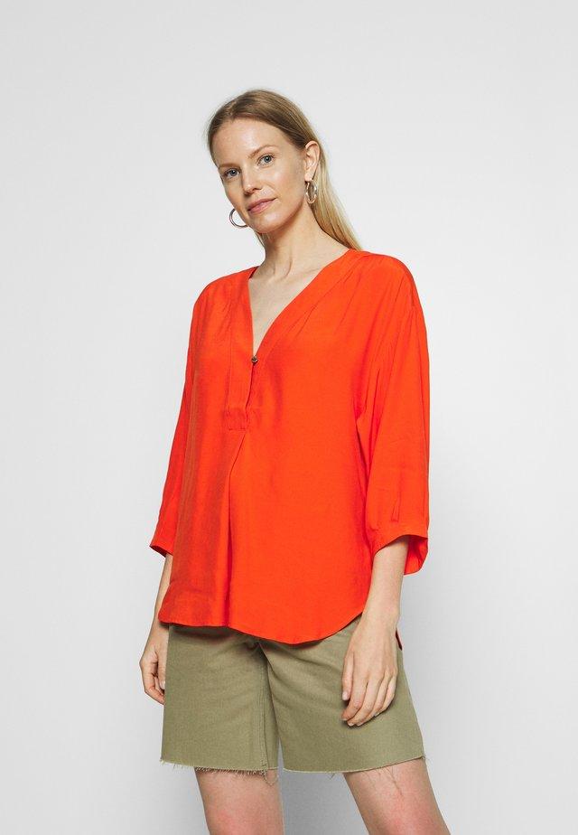 Blusa - red orange