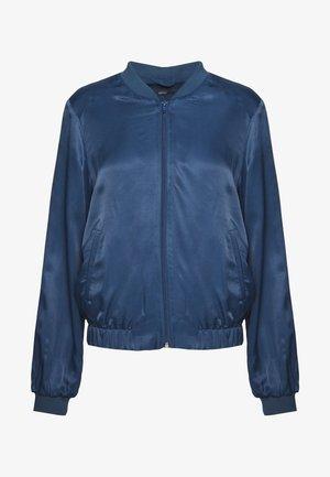 Bomber Jacket - petrol blue