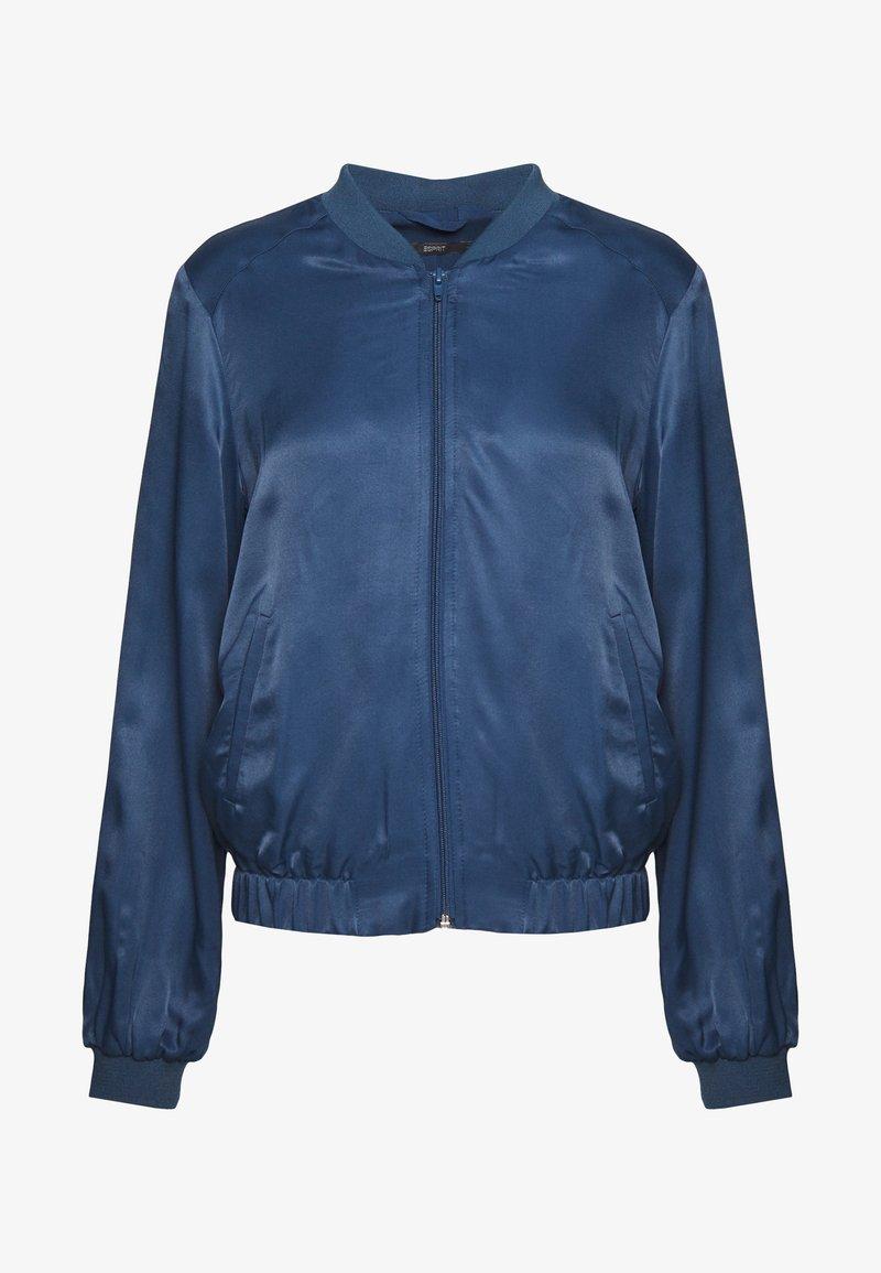 Esprit Collection - Bomber Jacket - petrol blue