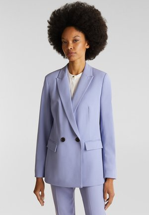 Manteau court - blue lavender