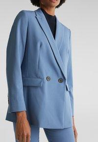 Esprit Collection - Manteau court - grey blue - 3