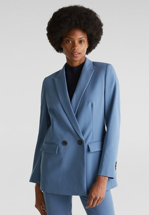 Manteau court - grey blue