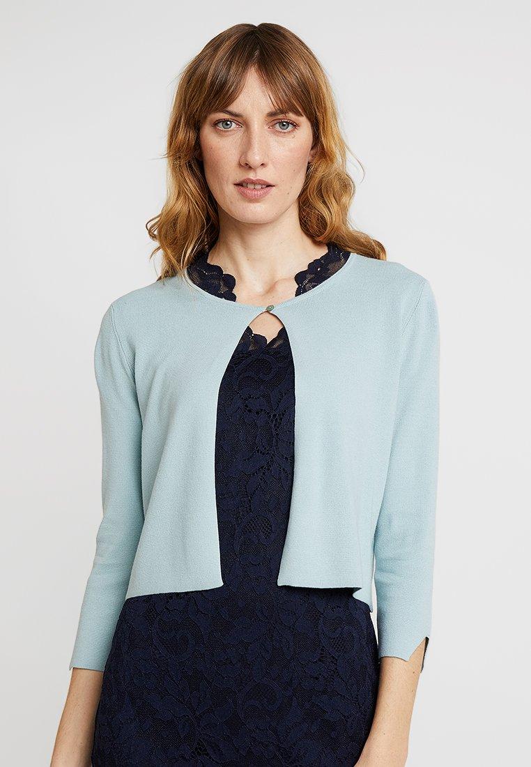 Esprit Collection - BOLERO - Vest - light aqua green
