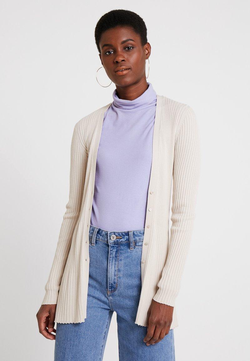 Esprit Collection - CARDIGAN - Strickjacke - light beige
