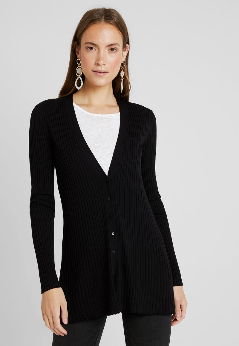 Esprit Collection - CARDIGAN - Strickjacke - black