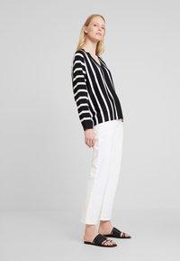 Esprit Collection - STRIPED  - Pullover - black - 1