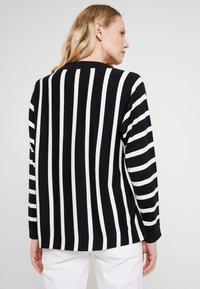 Esprit Collection - STRIPED  - Pullover - black - 2