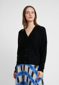 Esprit Collection - CARDI - Kardigan - black - 0