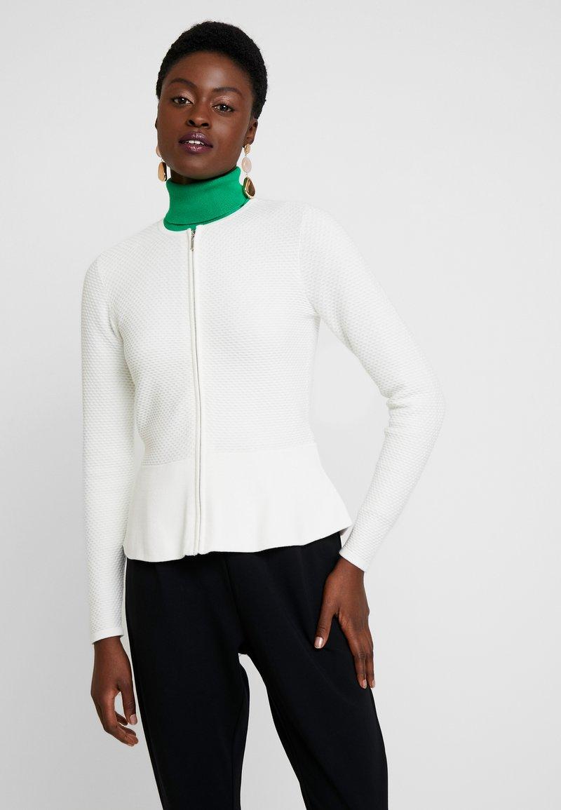 Esprit Collection - CARDI - Chaqueta de punto - off white