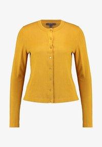 Esprit Collection - ECO CARDI - Cardigan - amber yellow - 3