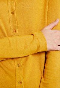 Esprit Collection - ECO CARDI - Cardigan - amber yellow - 4