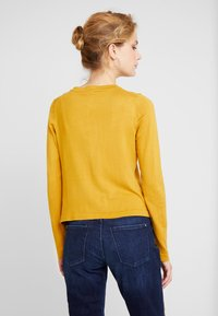 Esprit Collection - ECO CARDI - Cardigan - amber yellow - 2