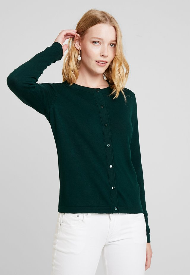 ECO CARDI - Strikjakke /Cardigans - bottle green