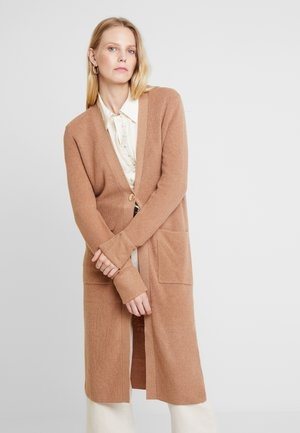 LONG - Cardigan - caramel