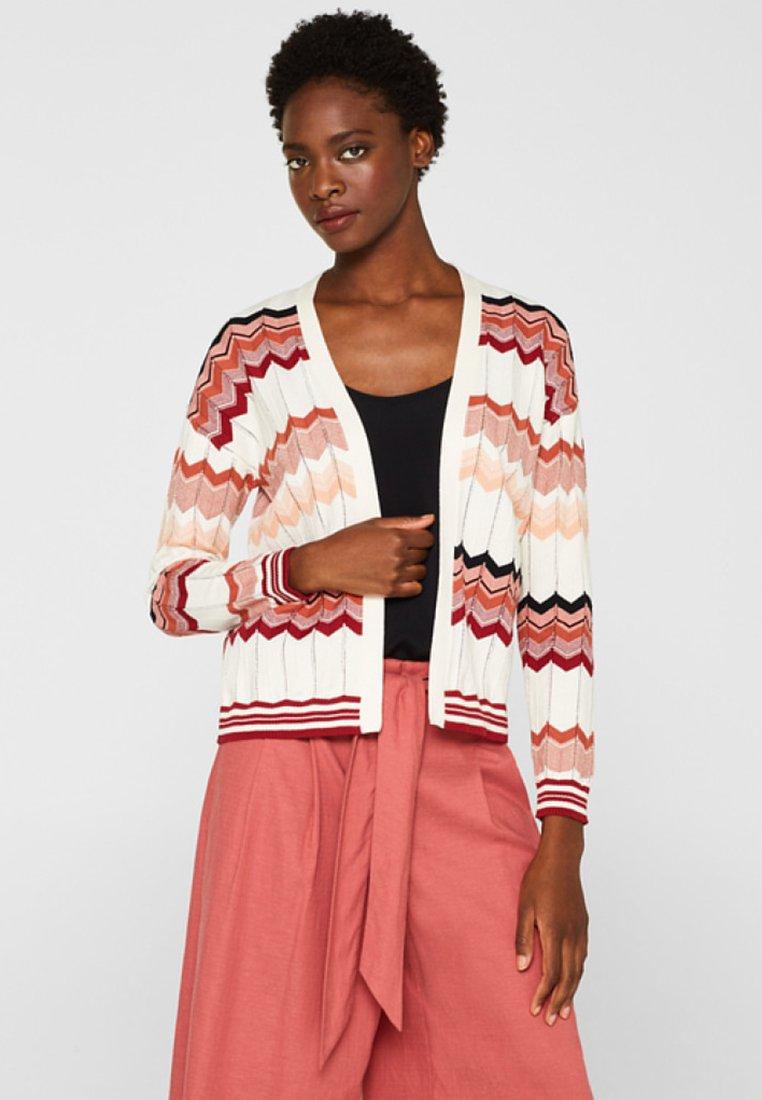 Esprit Collection - Strickjacke - mottled light pink