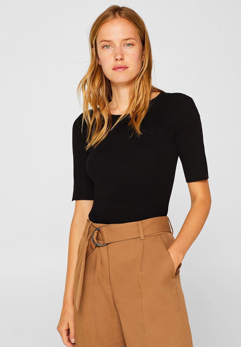Esprit Collection MIT ÄRMEL - T-Shirt print black