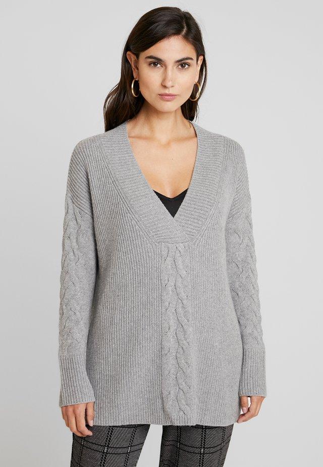 CABLE  - Jersey de punto - grey