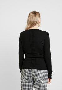 Esprit Collection - CABLE - Cardigan - black - 2