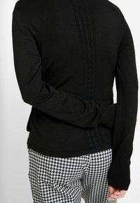 Esprit Collection - CABLE - Cardigan - black - 5