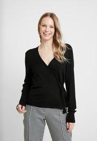 Esprit Collection - CABLE - Cardigan - black - 0
