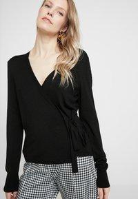 Esprit Collection - CABLE - Cardigan - black - 4