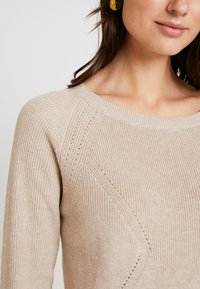 Esprit Collection - STRUCTURED  - Neule - sand - 4