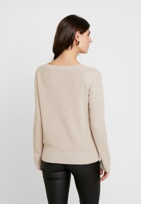 Esprit Collection - STRUCTURED  - Neule - sand - 2