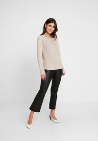 Esprit Collection - STRUCTURED  - Neule - sand - 1