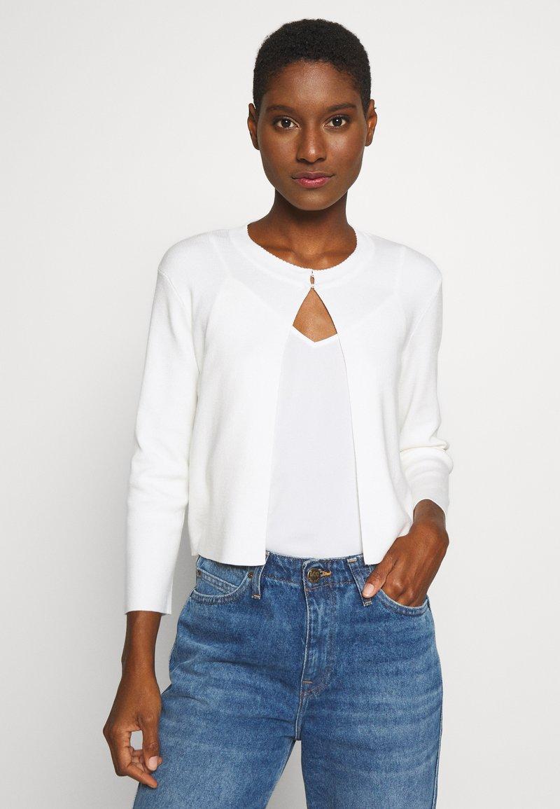 Esprit Collection - ECOVERO BOLERO - Cardigan - off white