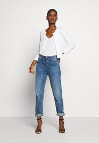 Esprit Collection - ECOVERO BOLERO - Cardigan - off white - 1